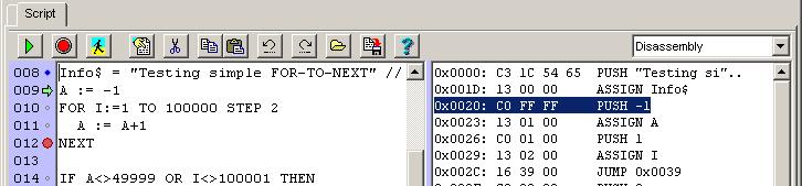 gesendeten code anzeigen