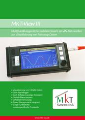 Broschüre MKT-View III
